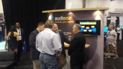 Audioair on display at multiple national tech shows and events